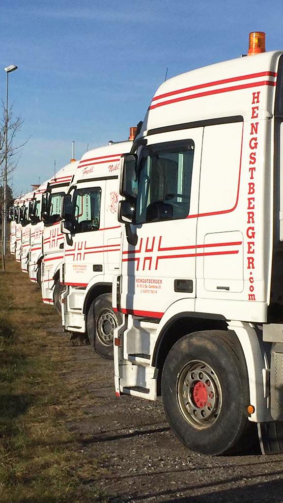 Hengstberger Flotte Betriebsgelände