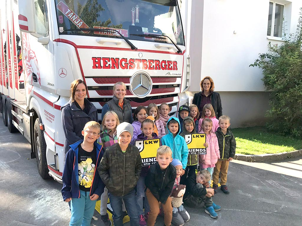 Hengstberger Besuch in der Volksschule