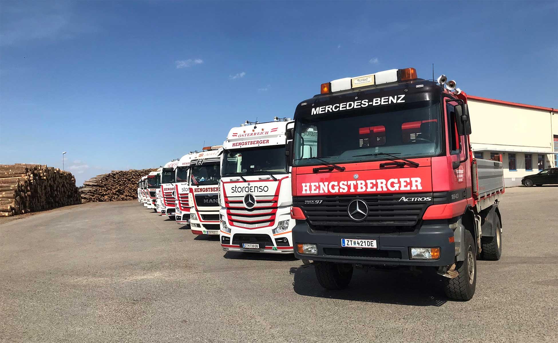 Hengstberger LKW Flotte