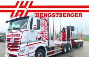 Hengstberger LKW mit LOGO