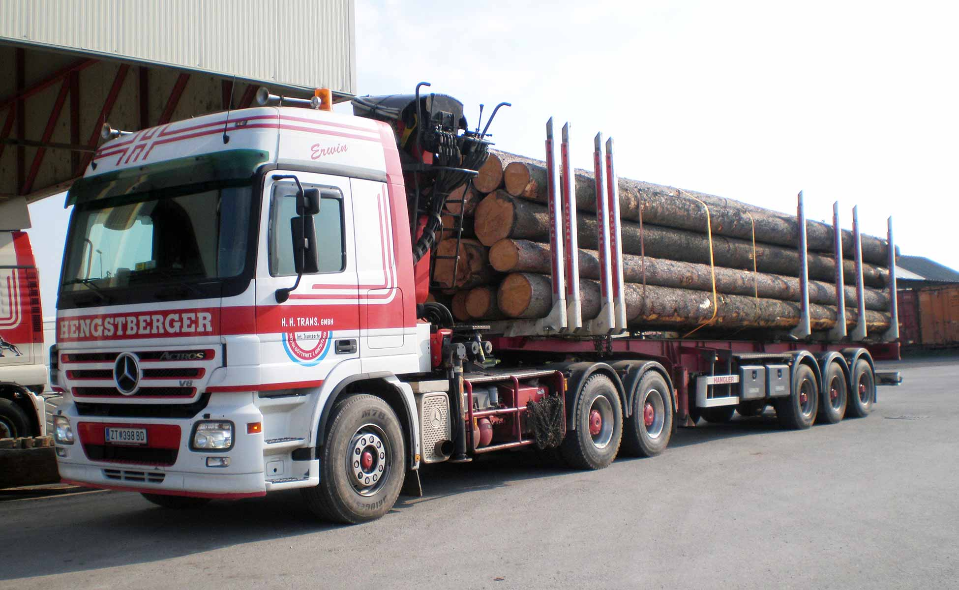 Hengstberger Holztransporte Langholz