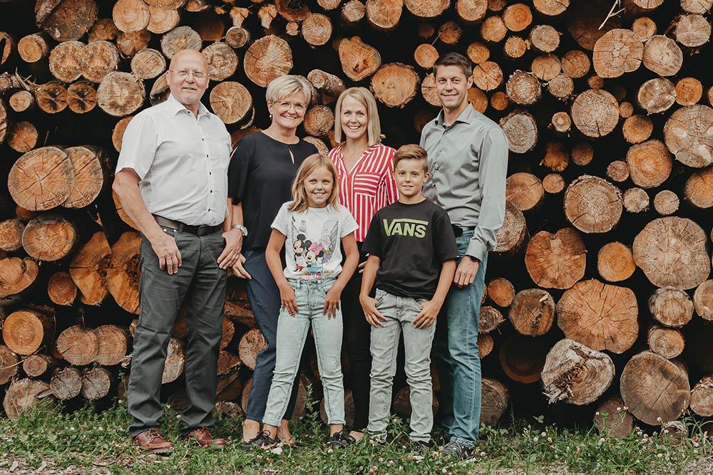 Familie Hengstberger und Geisberger