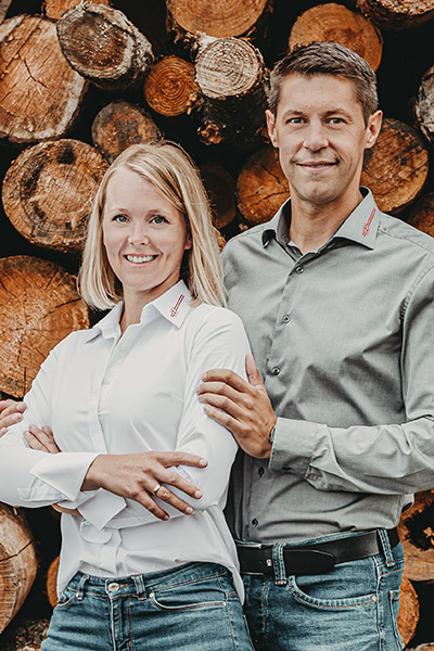 Geschäftsführer Tamara und Franz Geisberger
